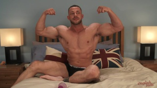 huge muscle hunk Conall Timpson