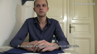 czech lad earns cash the old fashioned way