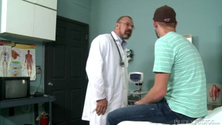 Doctor's Fat Cock with Max Sargent & Chandler Scott