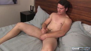 Robbie has a healthy jerk off regime ... sometimes five times daily