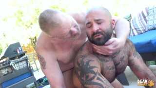 daddy Rusty McMann fucks very hairy Atlas Grant