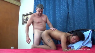 asian guy loves getting fucked by his daddy