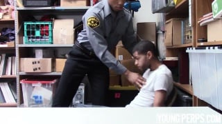 trouble maker got shoplifting pays the price