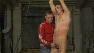 Beaten To A Big Cum Load with Ashton Bradley & Billy Rock
