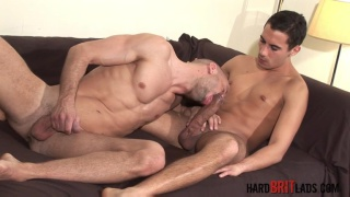 Tony Axel gets David Ken's 10-inch cock