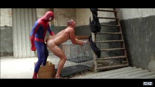 Spiderman; A Gay XXX Parody with Will Braun and Aston Springs