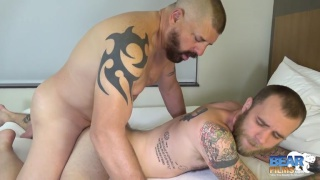 bear daddy fucks his furball bottom