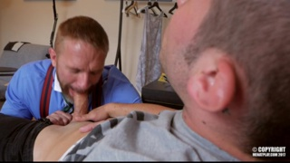 DIRK CABER gets fucked by RICKY BLUE