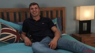 sexy guy Otto Davies in first JO video