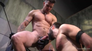 Trenton Ducati trains Mason Lear in his dungeon
