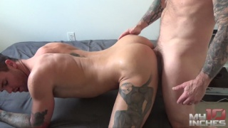 FUCKING BEAU REED with rocco steele
