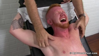 Ultra-Ticklish Muscle Ginger Jackson