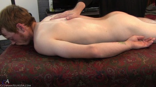 ginger straight gut Axel gets his hole fingered
