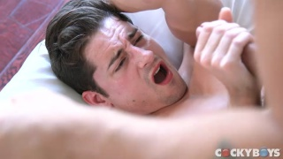 Pierre Fitch shoves his huge cock in Taylor Reign