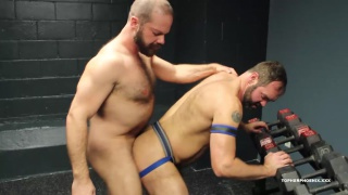 Caught By Coach Topher Phoenix and MuscleBull