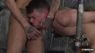 Mickey Taylor fucks restrained boy Youri Chevalier