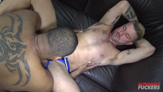 Ray Diesel bare fucks Christian Matthews