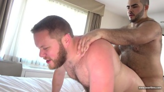 beefy latino cub loves fucking white boys