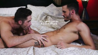AADEN STARK DEBUTS WITH MICHAEL LUCAS