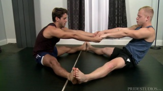 Big Cock Yoga with Dylan Drive and Leo Luckett
