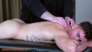 straight boy's First Gay Experience on the massage table