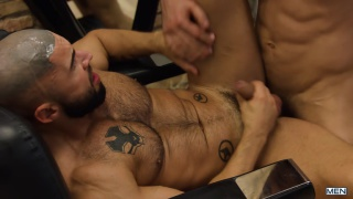 skilled tricks with Francois Sagat & Dato Foland