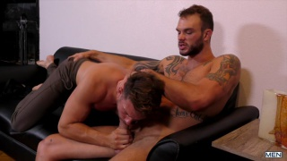 Cable Guy is a Porn Star with Cliff Jensen, Aspen & Casey Jacks