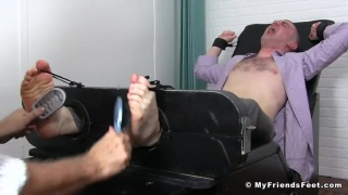 site members gets Tickled Beyond His Limits