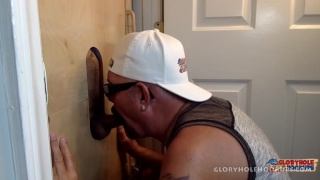 Latin man decided to give my gloryhole a try
