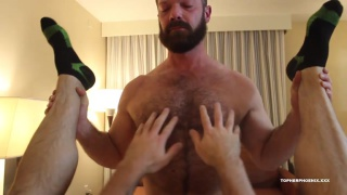 Raw Muscle Fuckers with MuscleBull & Topher Phoenix