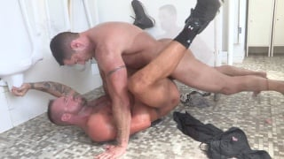 Toilet Fuck with Nick Capra and Michael Roman